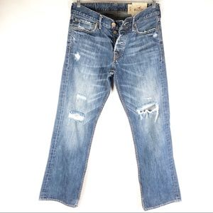 Hollister | Men's Classic Straight Blue Jeans